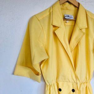 Vintage Yellow Dress 14